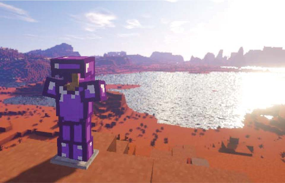 In this Minecraft coding class, kids will create their own custom armor mod using Java.