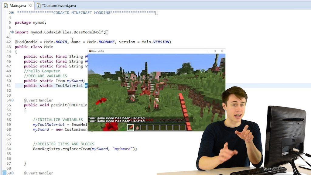 CodaKid-Minecraft-Coding-Course