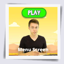 JavaScript App Course - Menu Screen