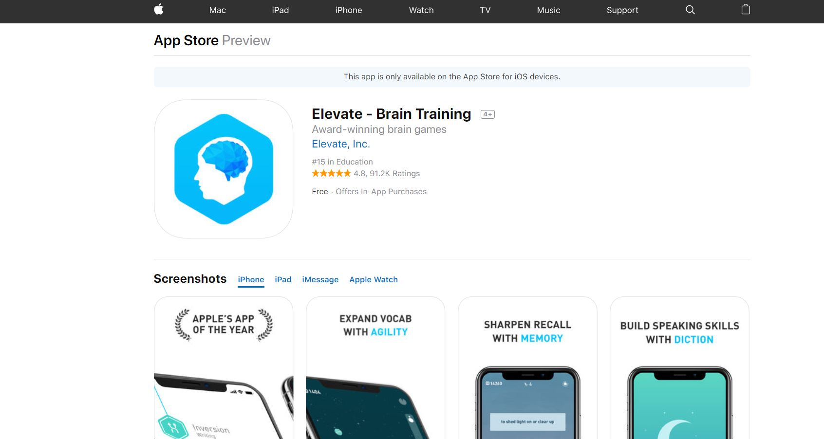 Elevate Brain Training CodaKid Top 21 Math Apps for 2019