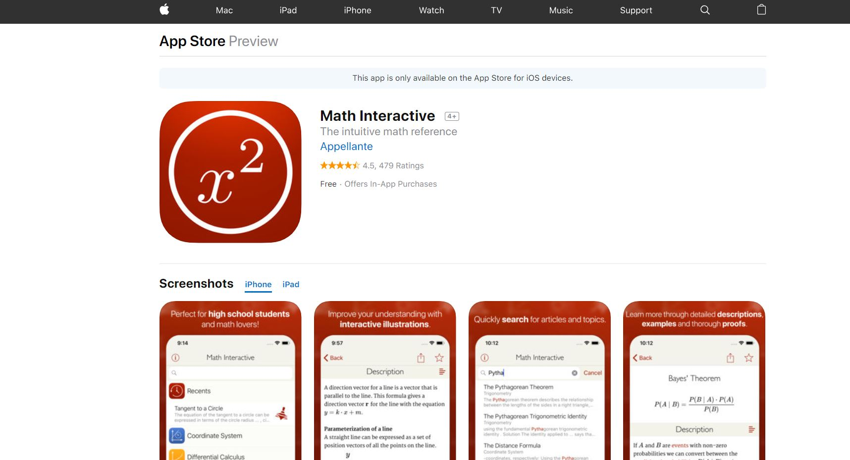 top math apps for mac
