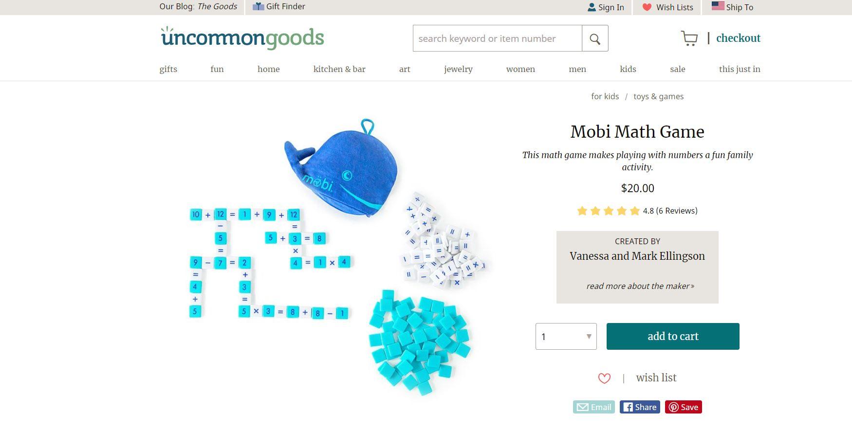 Mobi Math Game CodaKid Top Math Games