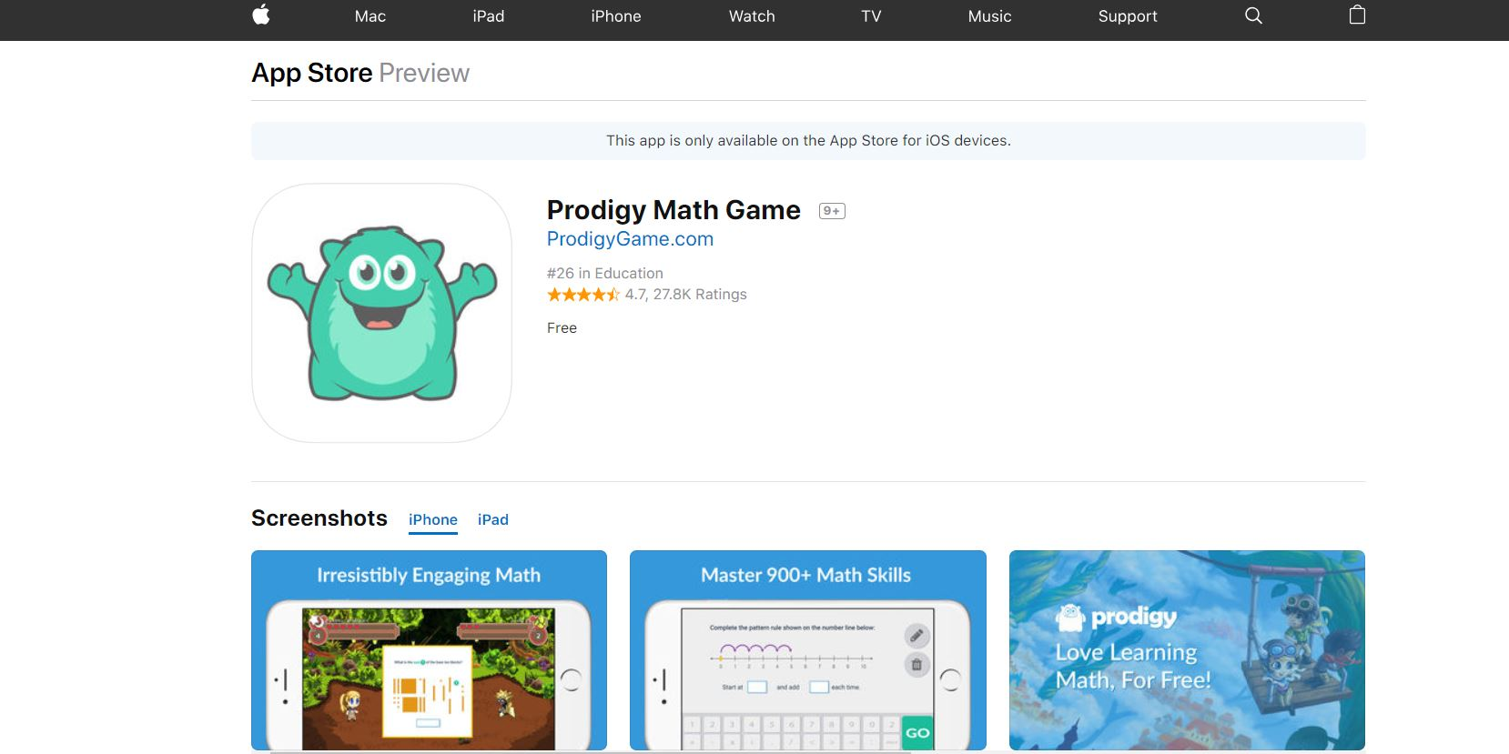 Prodigy CodaKid Top 21 Math Apps of 2019