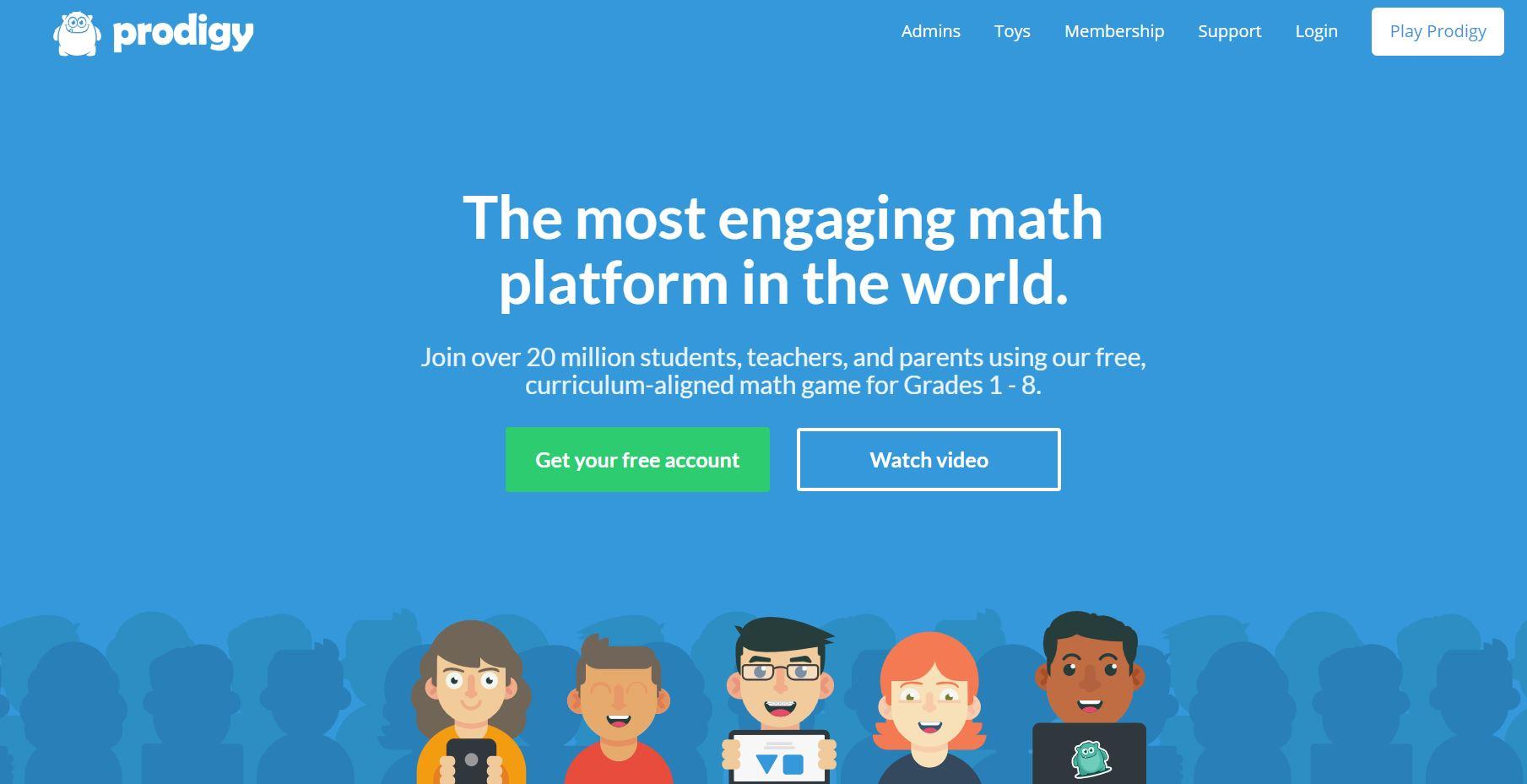 Prodigy CodaKid Top Math Games