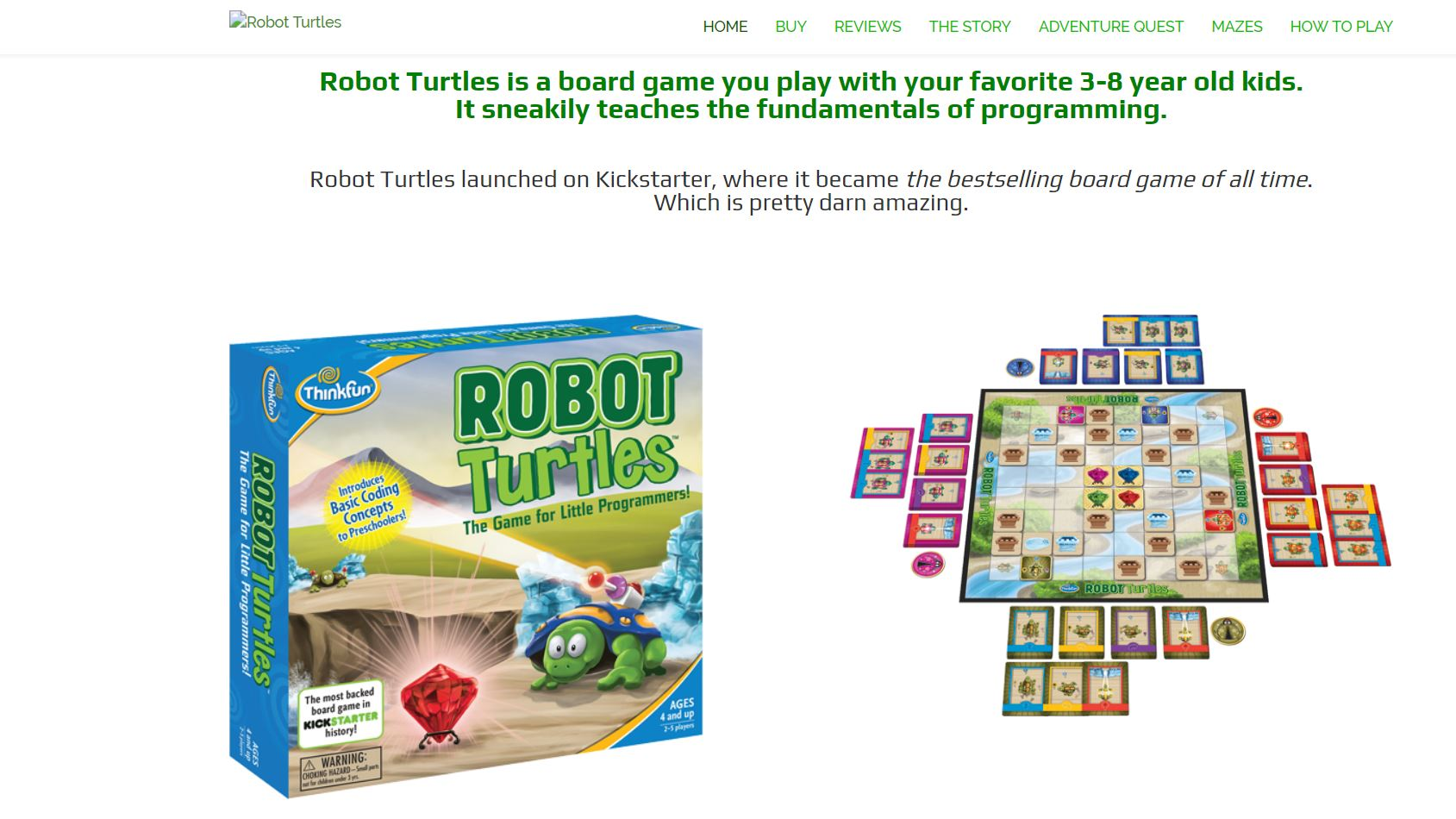 Robot Turtles CodaKid Top Math Games