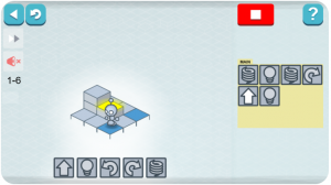 Lightbot is a coding game for kids