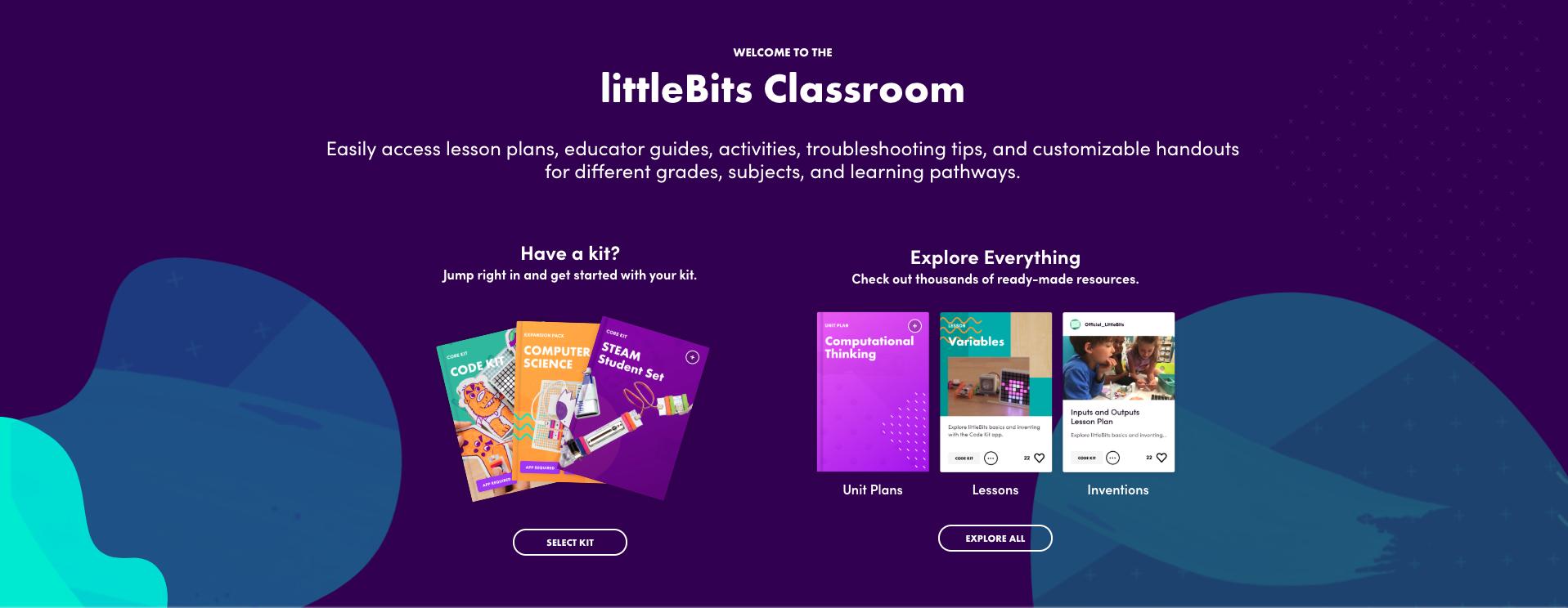 littleBits Classroom Science Homeschool Curriculum
